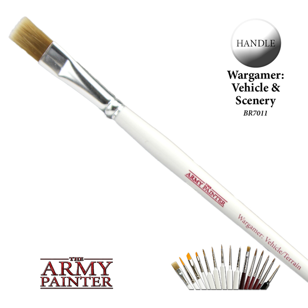 Army Painter: Wargamer Brush - Vehicle/Terrain