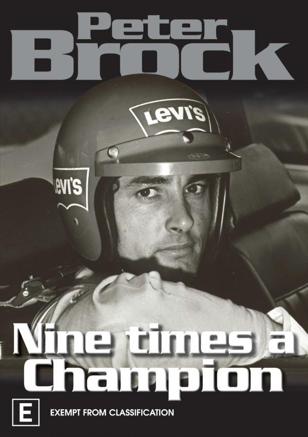 Peter Brock - Nine Times A Champion on DVD image