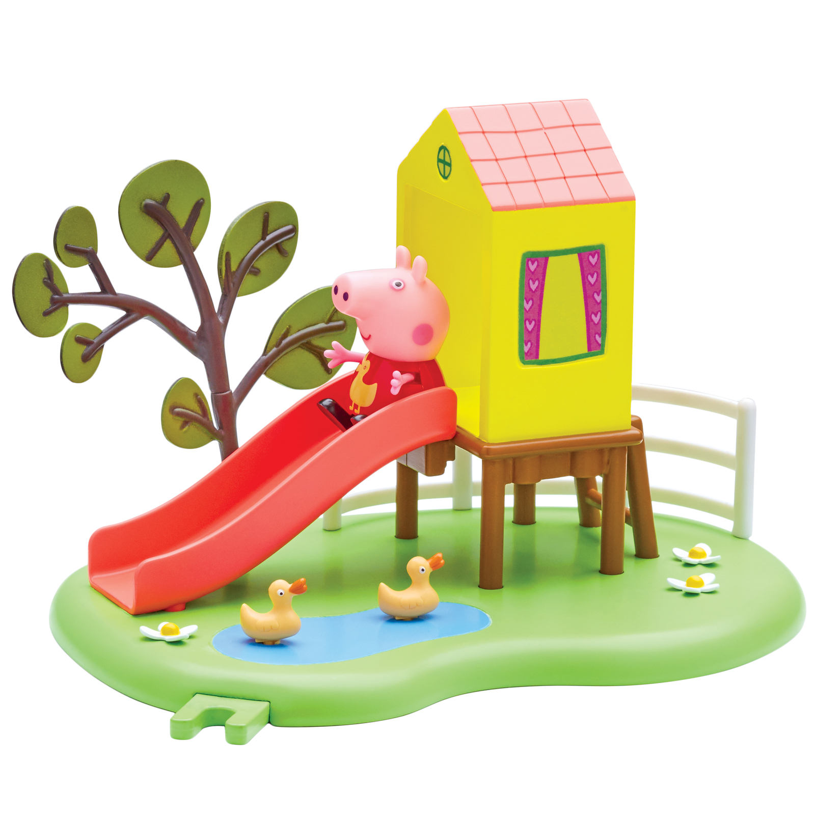 Peppa Pig Outdoor Fun Slide Playset Toy At Mighty
