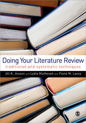 Doing Your Literature Review by Jill Jesson image