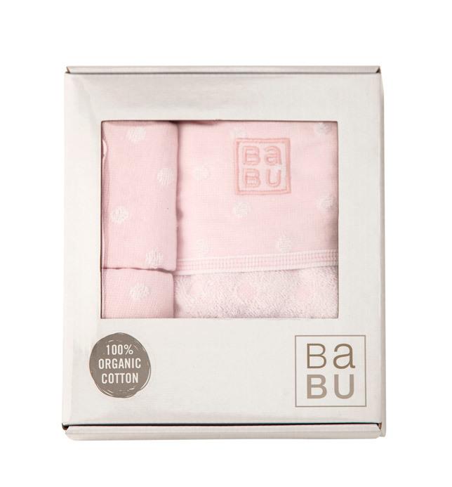 Babu: Bathing Gift Box - Pink image
