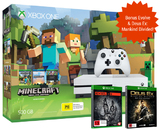 Xbox One S 500GB Minecraft Favorites Console Bundle for Xbox One