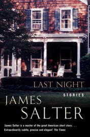Last Night by James Salter image