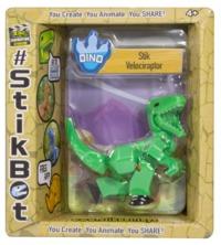 Stikbot: Dino Single - Velociraptor (Green)