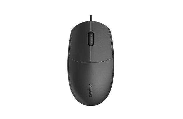 Rapoo N100 Optical Mouse - Black