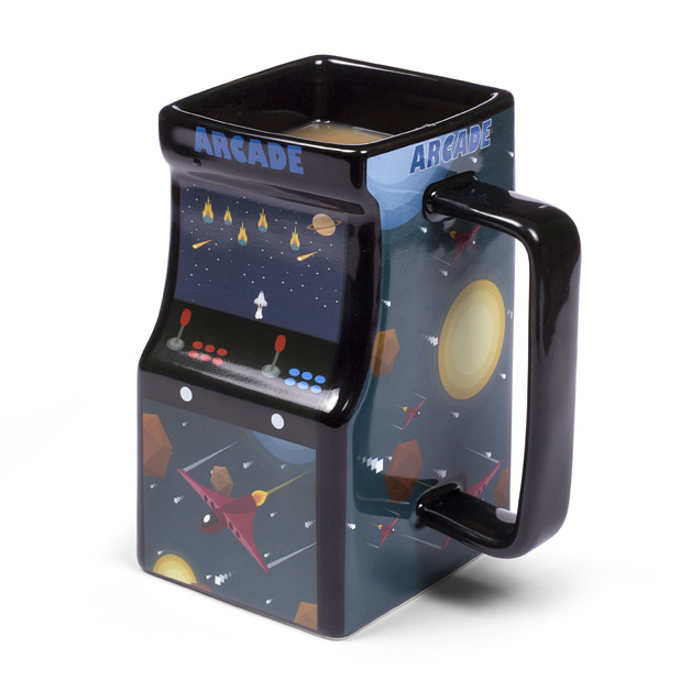 Thumbs Up!: Colour Changing Arcade Mug