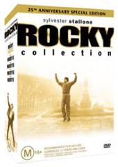 Rocky Box Set (5 Disc Set) on DVD