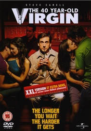 The 40 Year Old Virgin - XXL Version on DVD image