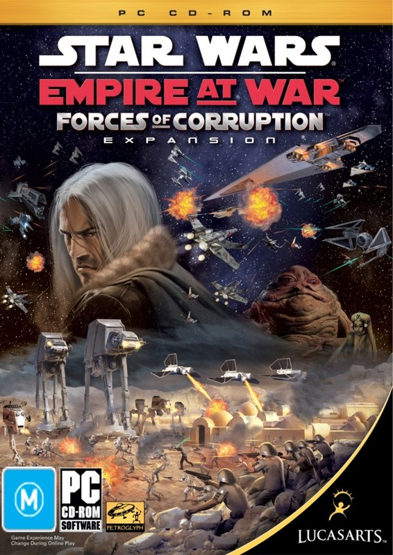 Star Wars: Empire at War - Forces of Corruption for PC Games