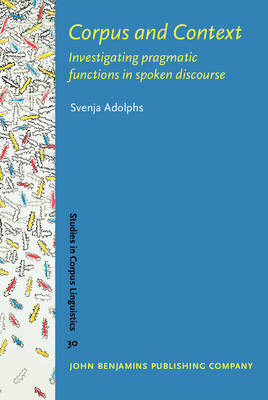Corpus and Context by Svenja Adolphs image