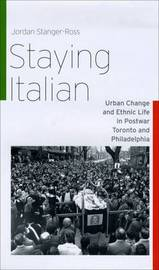 Staying Italian by Jordan Stanger-Ross image