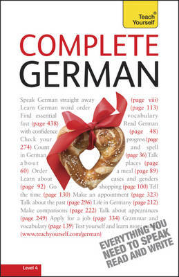 Complete German (Learn German with Teach Yourself) by Paul Coggle image