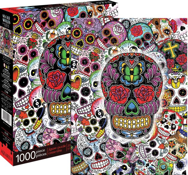 Aquarius: Sugar Skulls - 1000-Piece Puzzle