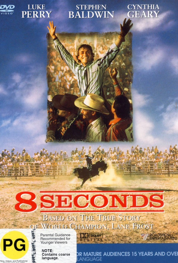 8 Seconds on DVD image