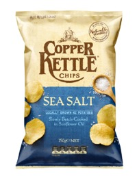Copper Kettle Chips Sea Salt (150g)