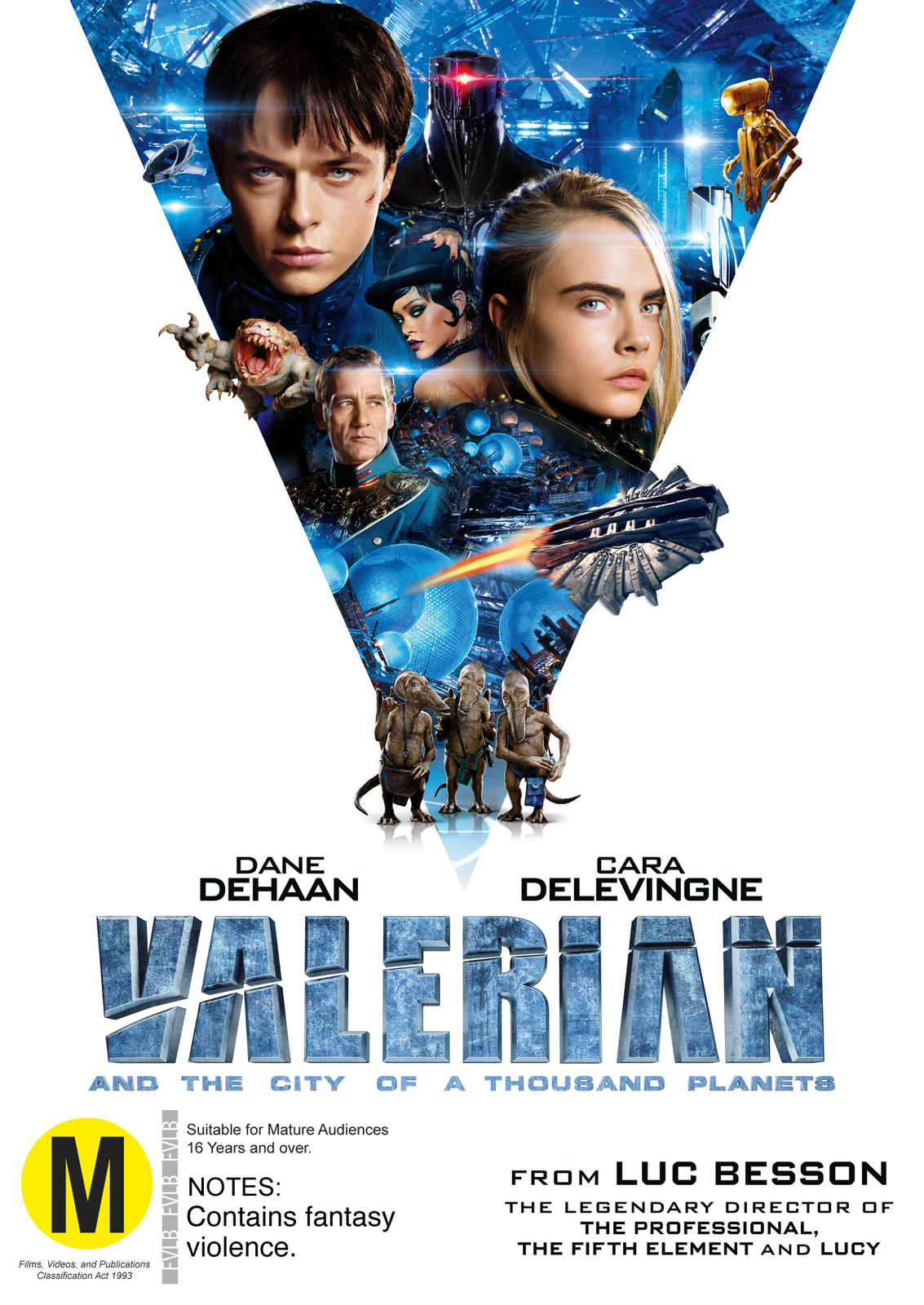 Valerian And The City Of A Thousand Planets on DVD image