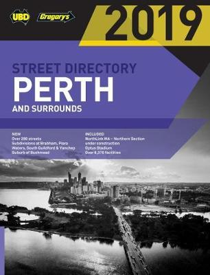 Perth Street Directory 2019 61st ed by UBD / Gregory's
