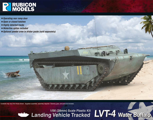 Rubicon 1/56 LVT-4 Water Buffalo