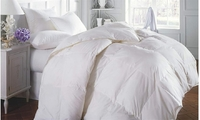 Royal Comfort: Goose Feather & Down Quilt - Queen (500GSM) image
