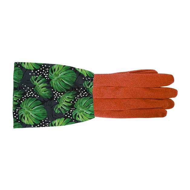Annabel Trends: Garden Gloves - Spotty Monstera