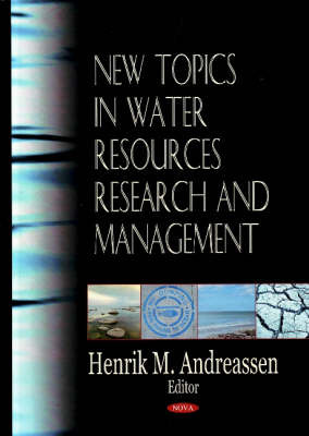 New Topics in Water Resources Research & Management image