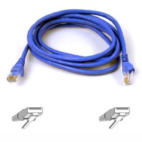Belkin - Cat5e Snagless Patch Network Cable - 2m (Blue)