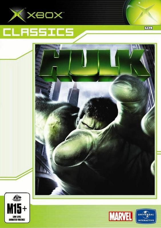The Hulk for Xbox