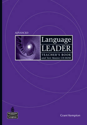 Language Leader Advanced Teachers Book and Test Master CD Rom Pack by Grant Kempton image
