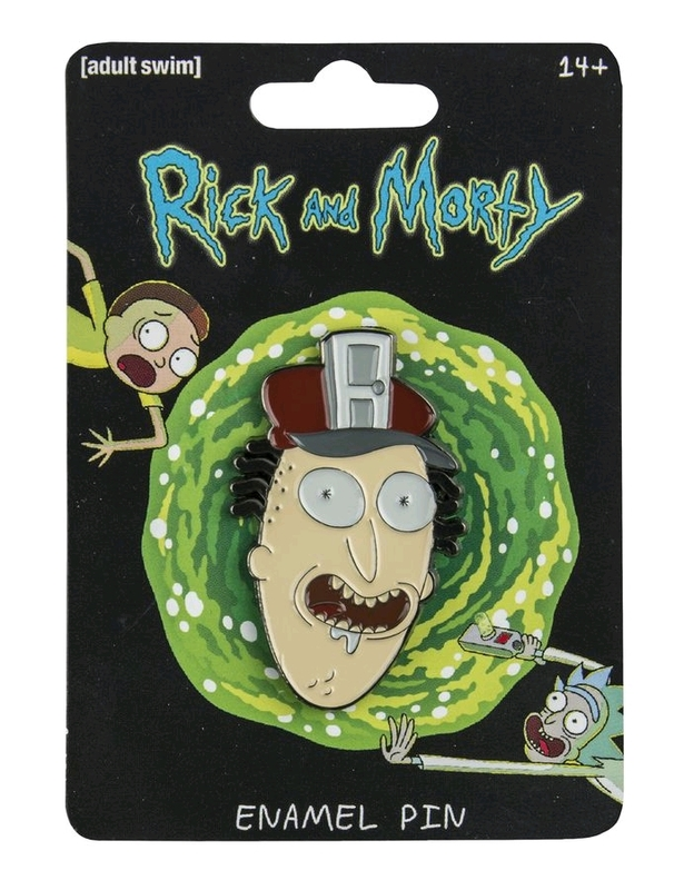 Rick and Morty: Enamel Pin - Fake Doors Salesman