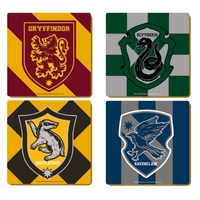 Harry Potter: Hogwarts Varsity Coasters (Set of 4)