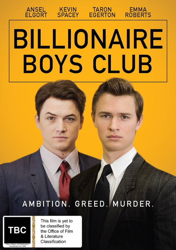 Billionaire Boys Club on DVD
