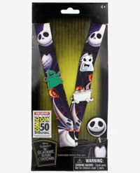 Nightmare Before Christmas Lanyard and Pin Set - San Diego Comic-Con 2019 Exclusive image