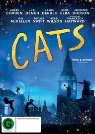 Cats (2019) on DVD image
