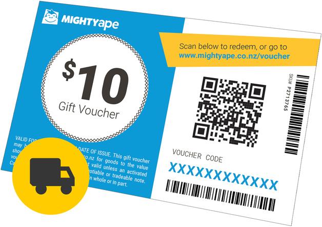 Mighty Ape $10 Gift Voucher