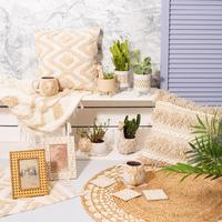 Sass & Belle: Blanca Tufted Stripe Cushion image