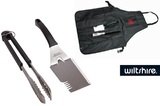 Wiltshire Bar-B Apron Mate & Tongs