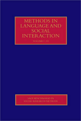 Methods in Language and Social Interaction