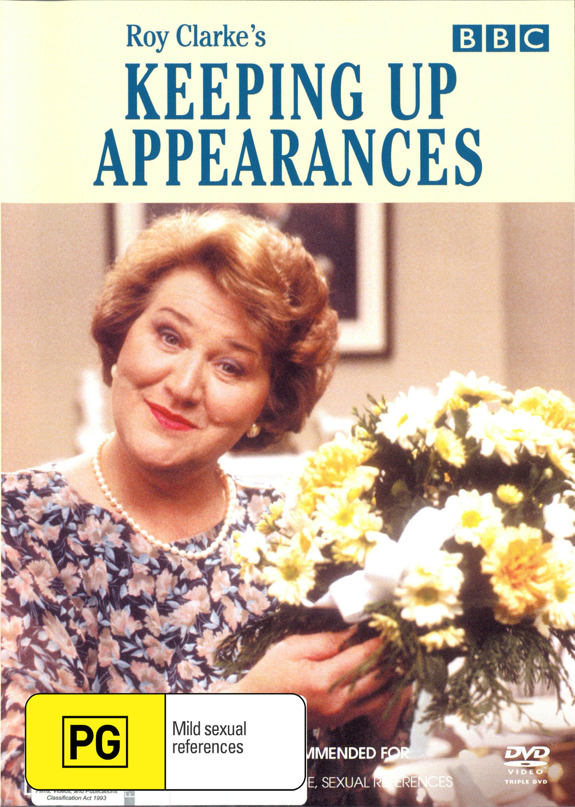 Keeping Up Appearances - Series 1 & 2 (3 Disc) on DVD image