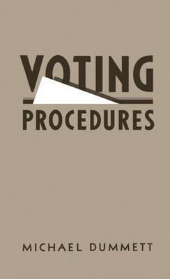 Voting Procedures by Michael Dummett