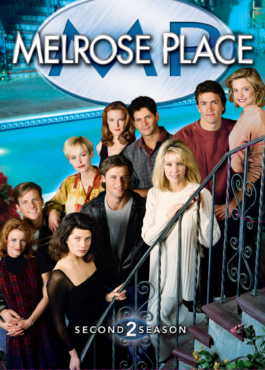 Melrose Place - Season 2 (8 Disc Box Set) on DVD image