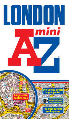 Mini London Street Atlas by Geographers A-Z Map Company