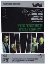 The Trouble With Harry on DVD