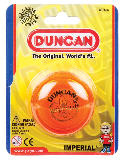 Duncan: Imperial Classic Yo-Yo - Assorted Colours