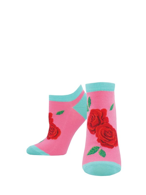 Socksmith: Women's Best Buds Ankle Socks - Pink