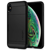 Spigen: Slim Armor CS Case for iPhone XS - Black