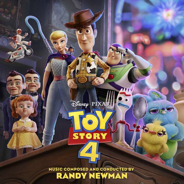 Toy Story 4 Official Soundtrack by Randy Newman image
