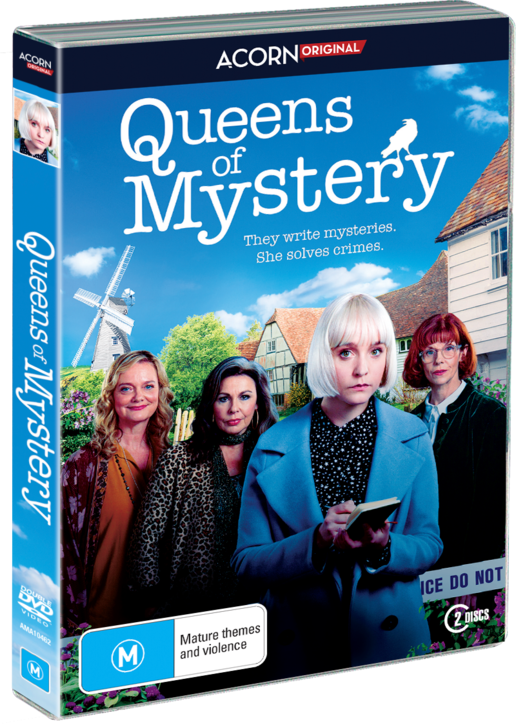 Queens Of Mystery on DVD