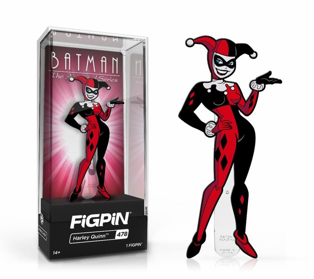 Batman: The Animated Series: Harley Quinn (#478) - Collector's FiGPiN
