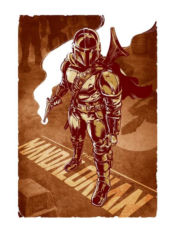 Star Wars: The Mandalorian This Is The Way - Lithograph Art Print