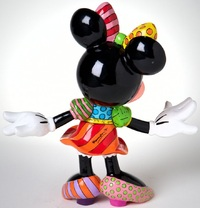Romero Britto - Minnie Mouse Figurine Large image